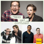 Happy Sad Confused