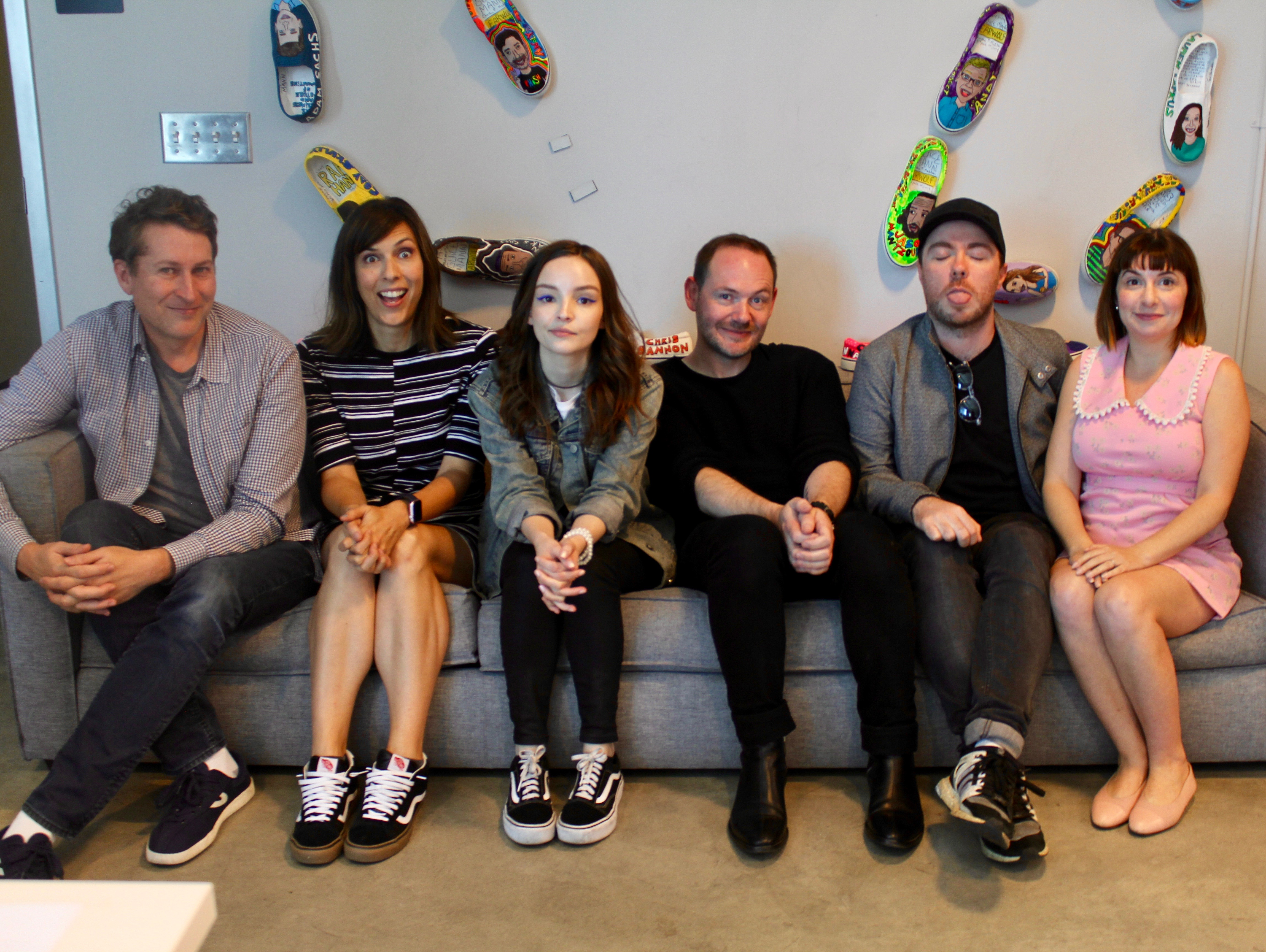 where you come from with chvrches, episode #563 of comedy bang bang
