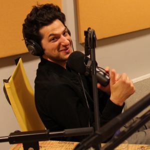 Ben Schwartz in Recording Booth for Sonic The Hedgehog