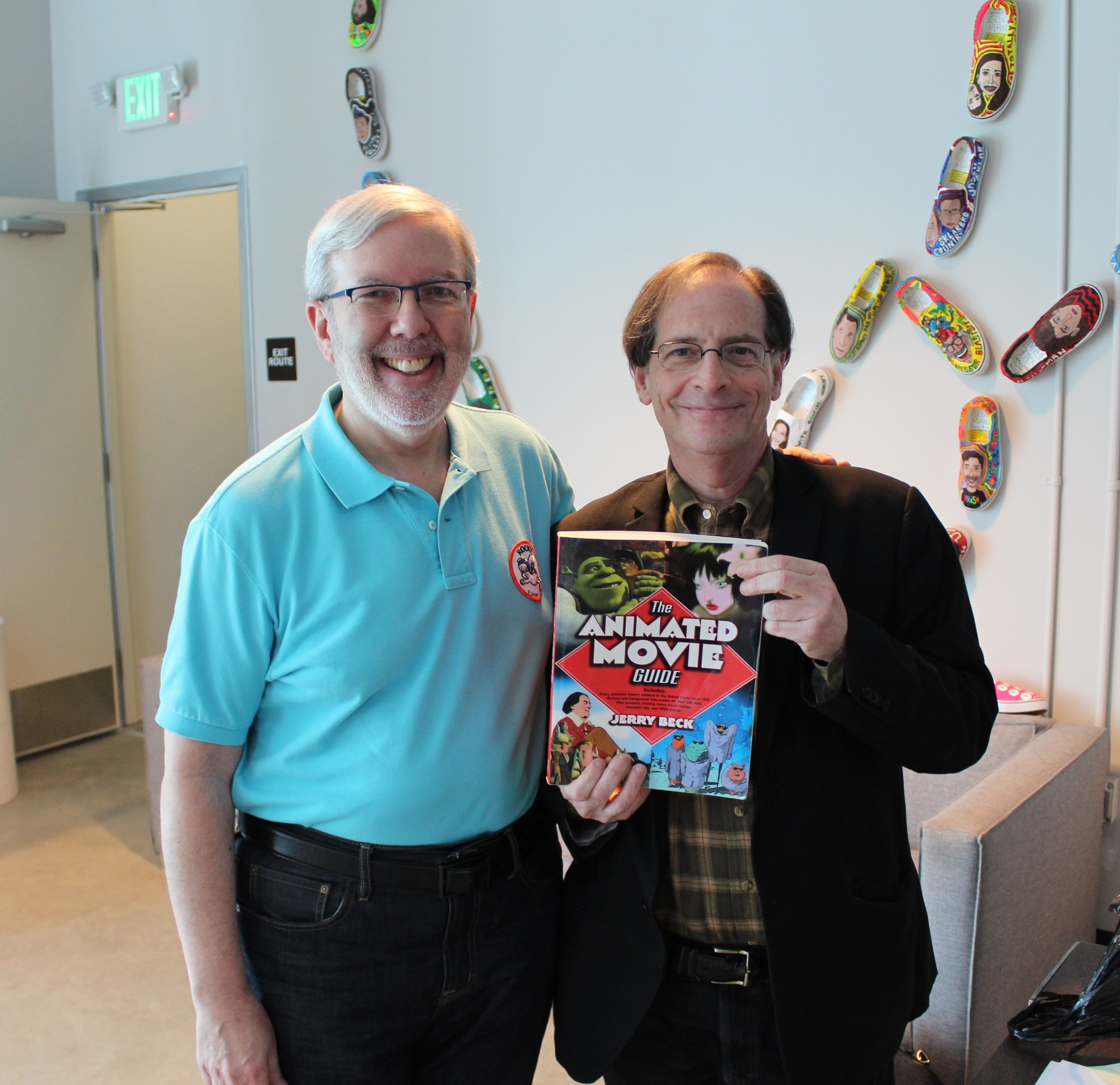 Jerry  Beck, episode of Maltin On #53 w/ Cartoons Animated